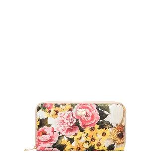 Dolce & Gabbana Dauphine Print Zip-around Wallet