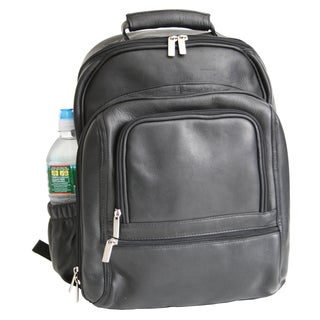 Royce Leather Colombian Vaquetta Cowhide Executive Laptop Backpack