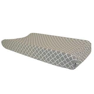 Trend Lab Paloma Gray Diamond Changing Pad Cover