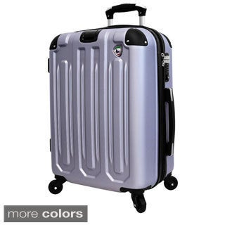 Mia Torro Regale 29-inch Lightweight Hardside Expandable Spinner Suitcase