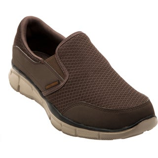 Skechers USA Mesh Upper Memory Foam Footbed Slip-on Shoes