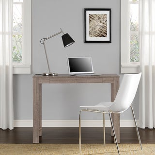 Altra Sonoma Oak Parsons Desk with Drawer