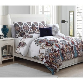 Avondale Manor Melisenta 5-piece Reversible Comforter Set