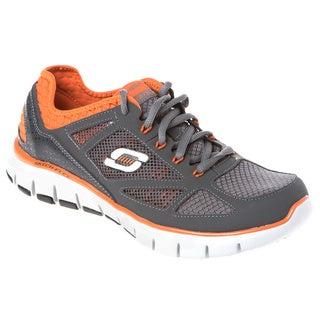 Skechers USA 51444 Relaxed Fit Gel-infused Memory Foam Footbed Neoprene Collar Sneakers
