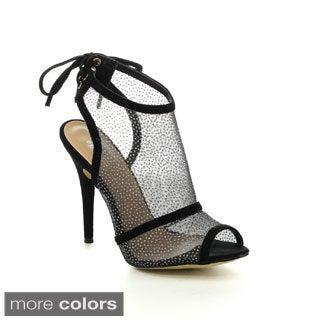 EASOS Women's GEAL EAH-65121 Ankle Cut-out High Heels