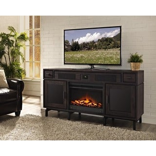 Victoria 66-inch Deluxe Xperience Audio Console with Electric Fireplace