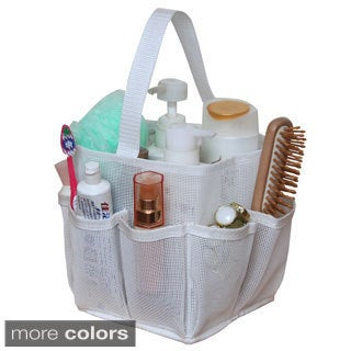Breathable Mesh Shower Tote/ Bathroom Organizer
