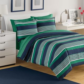 IZOD Caddy Stripe 3-piece Comforter Set