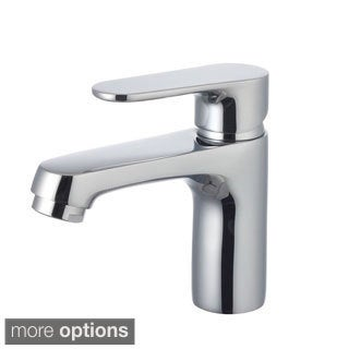 Eviva Melrose Brushed Nickel Small Bathroom Faucet