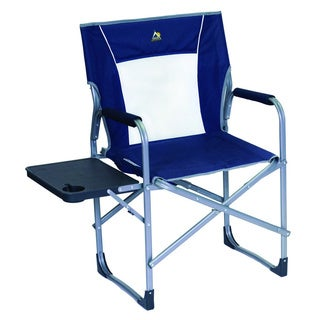 Slim Fold Directors Chair Blue