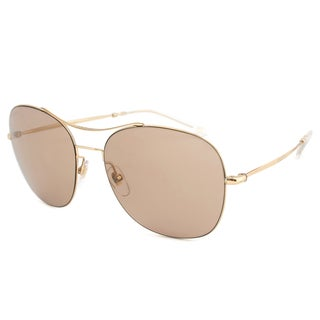 Gucci Women's 4253/S Metal Oval Modified Sunglasses