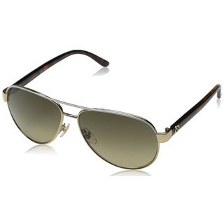 Gucci Women's 4239/S Metal Aviator Sunglasses