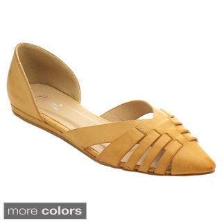 Miim Women's Cast-01 D'Orsay Flats
