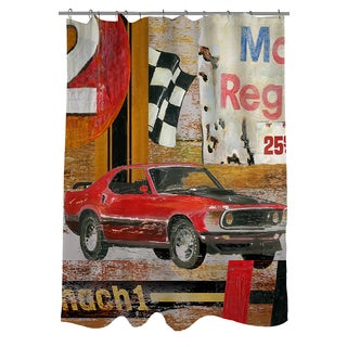 Thumbprintz Muscle Cars I Shower Curtain