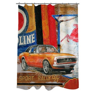 Thumbprintz Muscle Cars II Shower Curtain