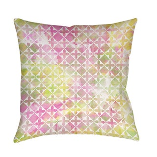Thumbprintz Summer Florals Pattern II Indoor/ Outdoor Pillow