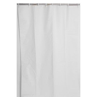54 x 72Heavy-Duty Staph, Mold and Odor Resistant Commercial Shower Curtain (Pack of 10)