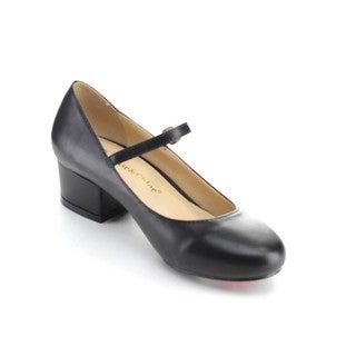 Chase & Chloe TAMARA-1 Mary Jane Women's Chunky Heels