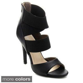 Betani PENELOPE-4 Women Elastic Strap Stiletto Heels