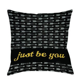 Thumbprintz Be You Decorative Pillow