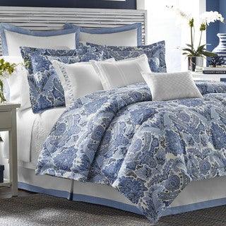 Tommy Bahama Porcelain Paradise 4-piece Comforter Set