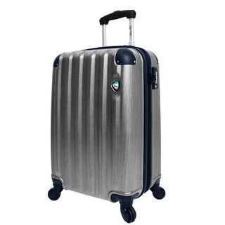 Mia Toro Lega Spazzolato 25-inch Lightweight Hardside Expandable Spinner Suitcase