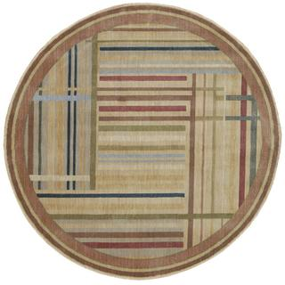 Rug Squared Fenwick Multicolor Rug (5'6 Round)