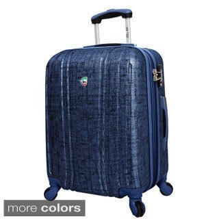 Mia Toro Macchiolina Abrasa 24-inch Lightweight Hardside Expandable Spinner Suitcase
