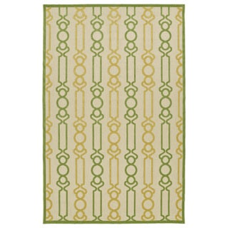 Indoor/Outdoor Luka Gold Mod Rug (8'8 x 12'0)