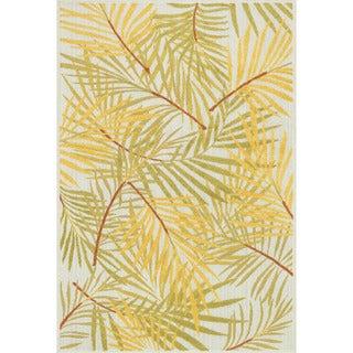 Indoor/ Outdoor Palm Rug (7'10 x 10'9)