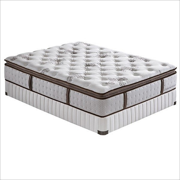 Stearns and foster 14 inch california king size jacalyn for Best deal on king size mattress