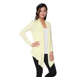 Free to Live Women's Lightweight Open Front Cardigan Sweater