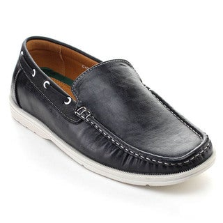 Rocus 3012 Men's Comfort Slip-On Boat Shoes Moccasin Driving Loafers