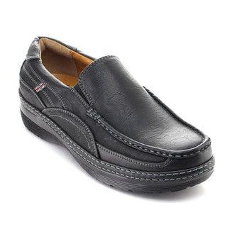 Rocus TS-313 Men's Casual Moccasin Slip On Low Heel Walking Penny Loafers
