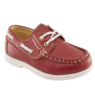 Akademiks Boys' Lace-Up Boat Shoes