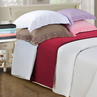 Wrinkle Resistant Embroidered Regal Lace 3-piece Duvet Cover Set