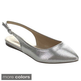 Breckelle's DOLLEY-31 Women's Sling Back Ballet Style Casual Flat