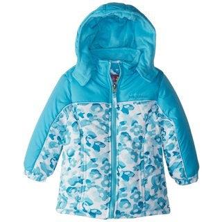 Pink Platinum Little Girl's Fleece Lined Down Alternative Puffer Winter Jacket