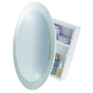 Saturn Wood Cabinet Surface Mount Only in White
