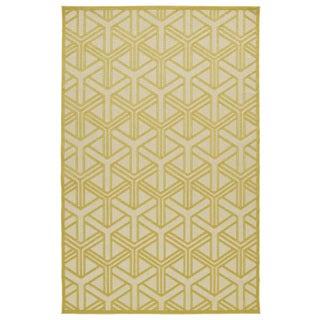 Indoor/Outdoor Luka Gold Dimensions Rug (7'10 x 10'8)