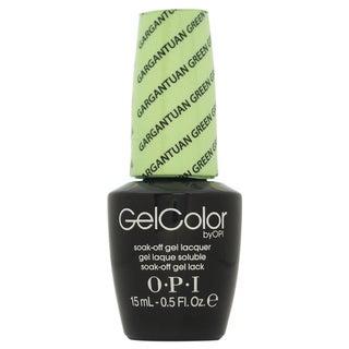 OPI GelColor Gargantuan Green Grape Soak-off Gel Lacquer