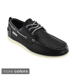 Rocawear Men's Lace-Up Boat Shoes