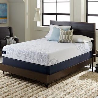 Serta Perfect Sleeper Isolation 10-inch Split Queen-size Gel Memory Foam Mattress Set