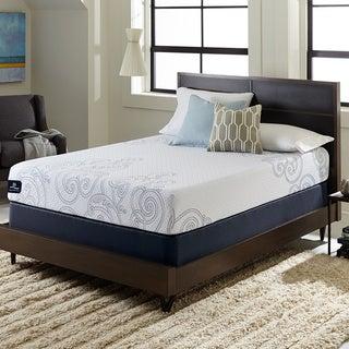Serta Perfect Sleeper Isolation 10-inch Queen-size Gel Memory Foam Mattress Set