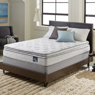 Serta Extravagant Pillowtop King-size Mattress Set