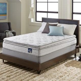 Serta Extravagant Pillowtop Twin XL-size Mattress Set