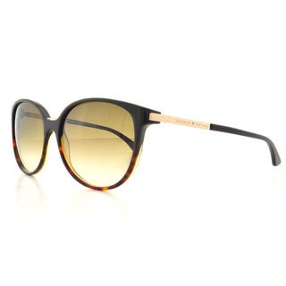 Kate Spade Women's Shawna/S Brown Plastic Round Sunglasses