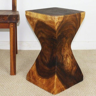 Rest Stool 12x20 with Walnut Oil Finish (Thailand)