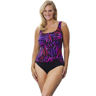 Longitude Women's Hot Rod Sash Tank Swimsuit