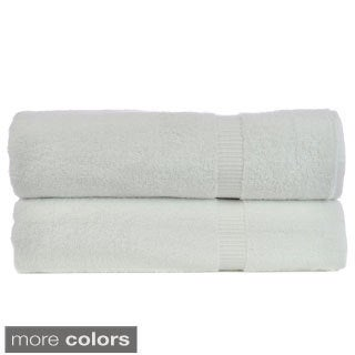 Luxury Hotel & Spa Turkish Cotton Dobby Bathsheet (Set of 2)